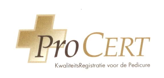 logo_procert_kwaliteitsregistratie_voor_de_pedicure praktijk voor  (sport) pedicure, medisch pedicure & podologie te Almelo