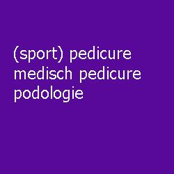 sport pedicure, medisch pedicure & podologie te Almelo